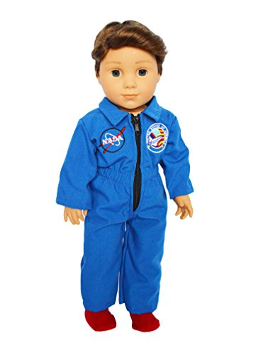 My Brittanys Nasa Flight Suit For American Girl Dolls  18 Inch Doll Clothes For American Girl Dolls