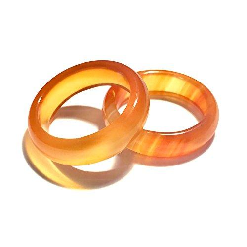 Whitestone Jewelry Co. Passion Fruit Mango Macaron Ring Size 4-11 (7)