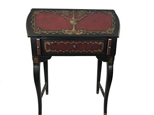 Antique Reproduction Desks - Clementine Wooden Antique Reproduction Secretary Desk