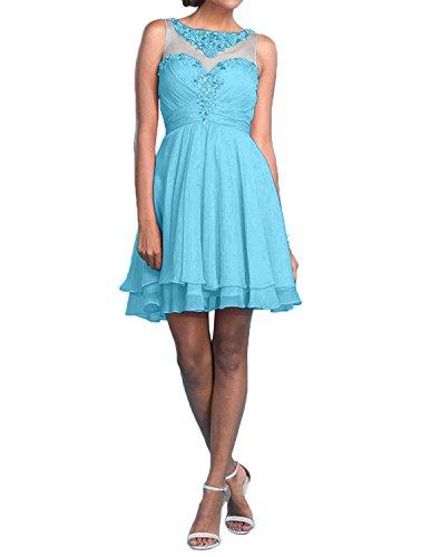 Kleider Blau Braut Knielang Promkleider Marie Rosa Sommer Herrlich La Abiballkleider Abendkleider Steine w7vqA
