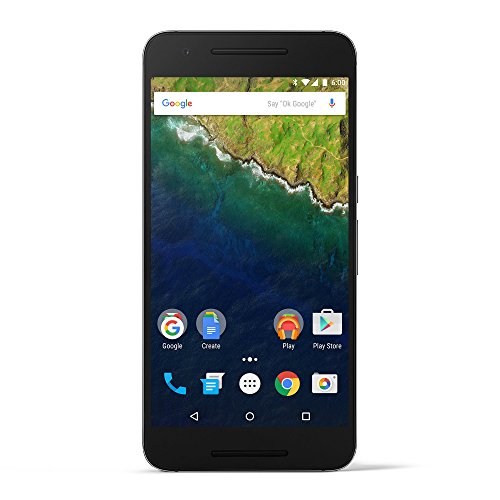 Huawei Nexus 6P  unlocked smartphone, 128GB Graphite (US Warranty)