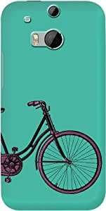 DailyObjects PaddleUp Vintage Cycle Case For HTC One M8