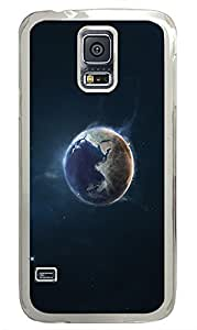 Samsung Galaxy S5 Earth Outer PC Custom Samsung Galaxy S5 Case Cover Transparent