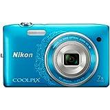 Nikon デジタルカメラ COOLPIX S3500 光学7倍ズーム 有効画素数 2005万画素 オリエンタルブルー S3500DBL