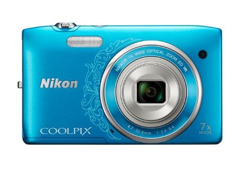ニコン クールピクス S3500 オリエンタルブルー