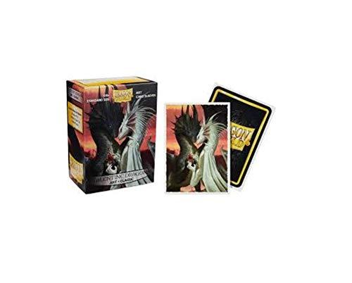 Dragon Shield: Art Sleeves Classic - Valentine Dragons by Arcane Tinmen