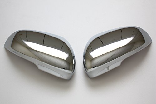 B2 2010 2011 Jaguar XF XK XFR XKR Chrome Door Mirror Covers by B2