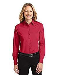 Port Authority Women's Long Sleeve Easy Care Shirt