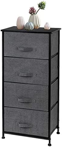 Mecor 4 Drawers Vertical Dresser Storage Tower/Chest Drawer