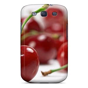 For Galaxy Case, High Quality Cherries Food For Galaxy S3 Cover Cases