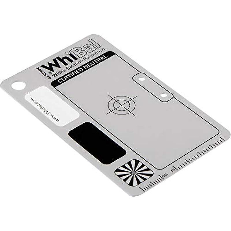 WhiBal G7 포켓 사이즈 중립 화이트 밸런스 카드 (5.3cm x 8.5cm)
