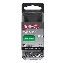 Aluminum Washer (Set of 30) Size: 0.19