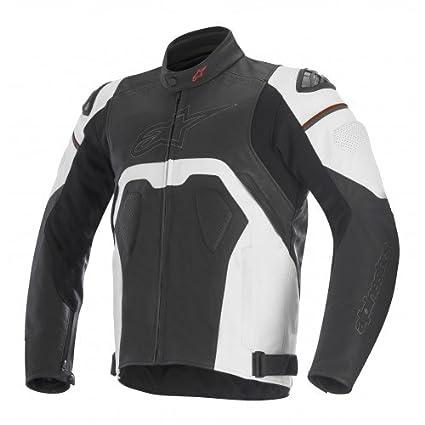 Alpinestars Moto Chaqueta Core Jacket Negro, Black/White, 50