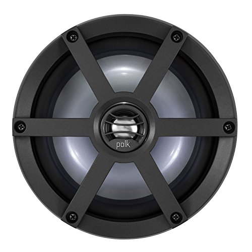 Sports Grille Kit (Polk UM650SRTL Coaxial Speaker Kit with Sport Grille and LED Light Ring - 6.5