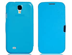Faux Leather Flip Protective Case for Samsung Galaxy S4/i9500 (Blue)