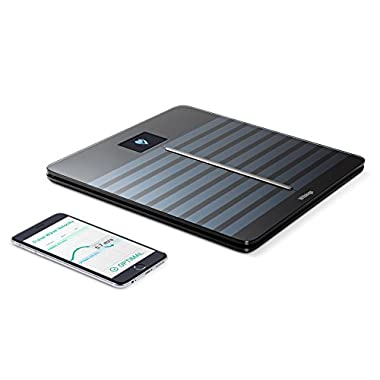Withings Body Cardio - Heart Health and Body Composition Wi-Fi Scale, Black