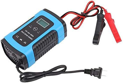Autobatterie Ladegerät 110V//220V zu 12V 6A intelligente schnelle LCD Anzeige DE