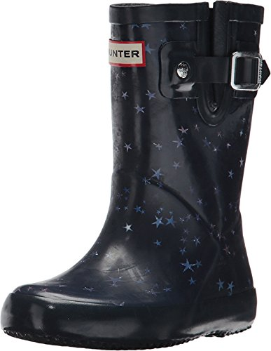 Price comparison product image Hunter Kids Unisex Flat Sole Constellation Print Rain Boots (Toddler/Little Kid) Midnight 11 M US Little Kid