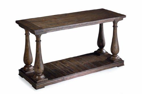 Magnussen T1695-73 Densbury Natural Pine Finish Wood Sofa Table