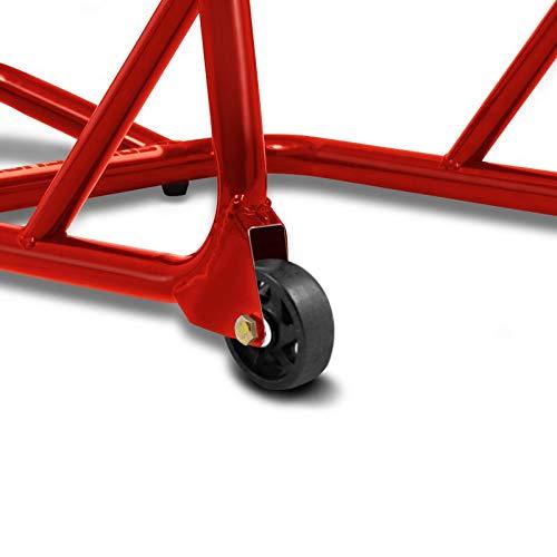 Caballete Trasero Benelli TRK 502 ConStands ST Racing rojo
