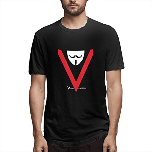 Seuriamin V for Vendetta Classic Men Tee Black
