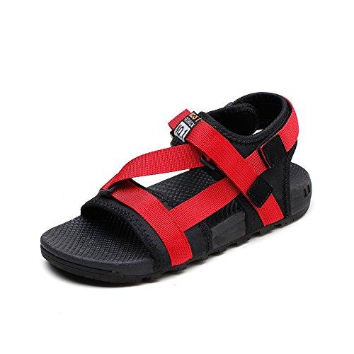 ZPPZZP La ragazza sandalo testa rotonda grassetto font style con un alto-tacco 35EU nero