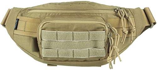 Wisport GEKON Waist Pack Bag Pack Bumbag para Caminata Militar de montaña al Aire Libre (Coyote Marrón): Amazon.es: Deportes y aire libre