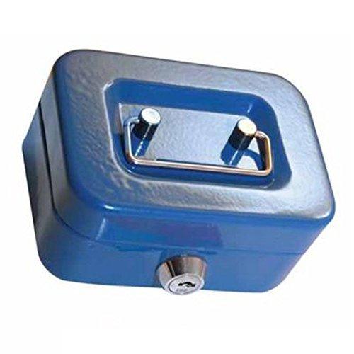 Arsuk® Cassetta salvadanaio, 11,4 cm, include 2 chiavi