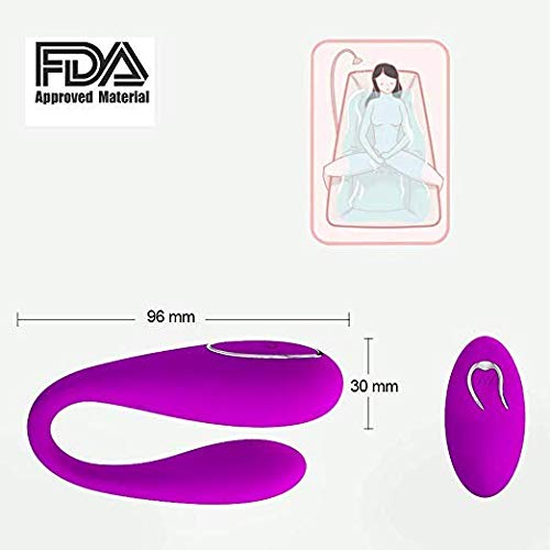 PPYTLOVE Toys Vibrators Rechargeable Wireless Remote Control Vibrator 12 Speeds Wearable C String Panties Vibrating Egg Toy for Women