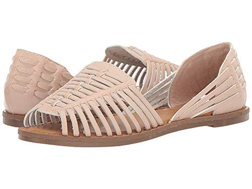MIA Shoes Women's Pandora Ballet Flat, Blush, 6.5 Medium US
