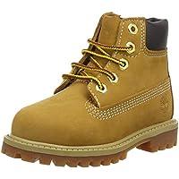 Timberland Kids' 6-Inch Premium Waterproof Boots for Toddlers, Wheat Quartz Exotic, 7 M US Big Kid