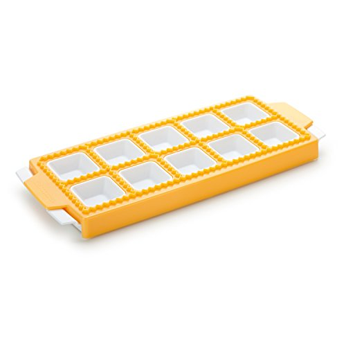 (Tescoma 630877.00 Ravioli Maker | Mould For 10 square Ravioli | ravioli cutter|)