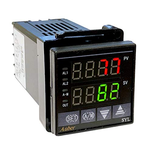PID TEMPERATURE CONTROLLER,W/ 30 RAMP/SOAK, RELAY OUTPUT by Auber Instruments
