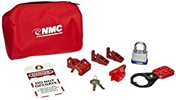NMC BLOK4 12 Piece Economy Lockout Pouch Kit