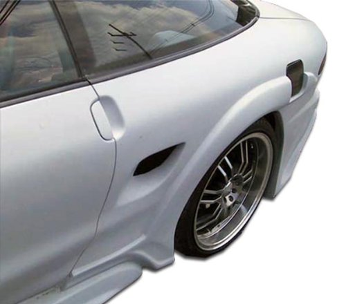 Duraflex Replacement for 1993-1997 Ford Probe Millenium Wide Body Rear Fender Flares - 2 Piece