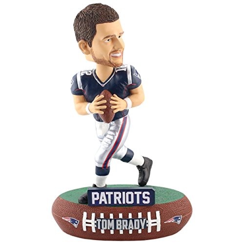 Forever Collectibles New England Patriots Tom Brady Baller Bobble Head Standard