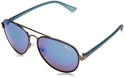 Pepe Jeans UV Protected Aviator Unisex Sunglasses – (PJ5129C3|61|Brown Color)