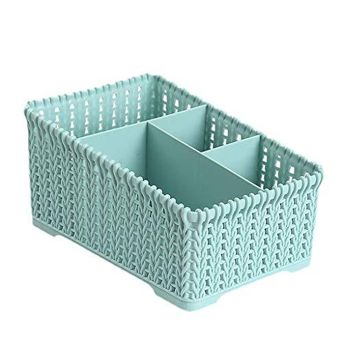 Expxon Cuatro cajas de almacenamiento de cuadrícula 1pc Oficina Caja de almacenamiento de plástico Caja de acabado de...