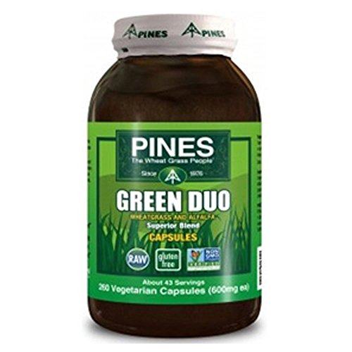 Pines Green Duo, 10 oz. (Wheat Grass Powder Pines)