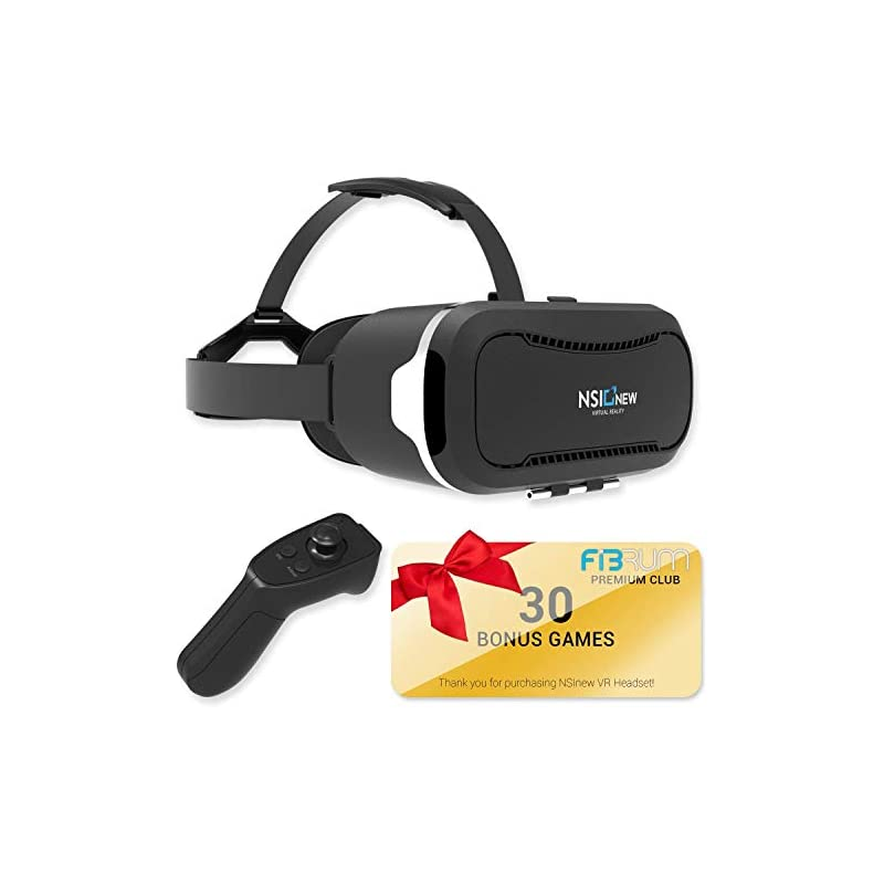 Virtual Reality Headset Over 30 VR Apps
