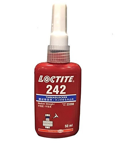 Henkel Loctite 242 Nut & Bolt Threadlocker, 50mL by Loctite