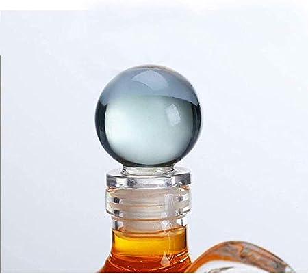 KEKEYANG Decantador de Whisky de la Forma de Conejo de 1000ml - Forma de Serpiente Animal Botella de Cristal Creativa Decoración de artesanía Transparente para Oficina, Dormitorio Licorera