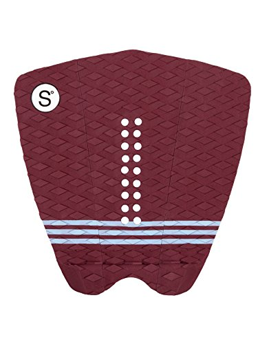 SYMPL Surfboard Traction - MAROON - Pro Series Pad by Sympl Supply Co.
