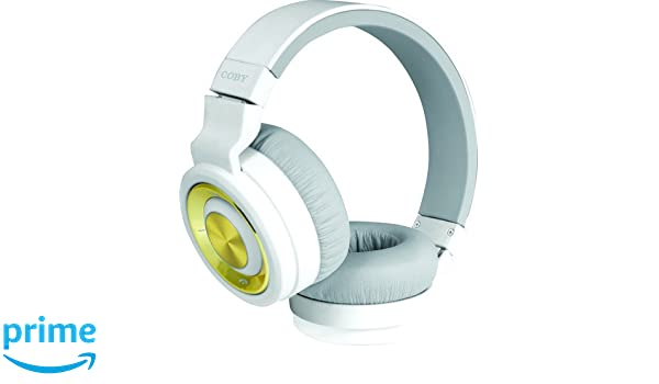 Amazon.com: Coby Premium CHBT-613 Bluetooth Headphones (White): Electronics