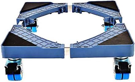 MSLYDYG Universal Ajustable Lavadora Placa Base, con Ruedas ...