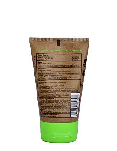 Raw Elements Certified Natural Sunscreen | Non-Nano Zinc Oxide, 95% Organic,...