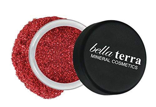 Mineral Glitter Eyeshadow Makeup Powder - Metallic Cosmetic Highlighter for Face & Nails - Pigment Dust - Natural Makeup (Orion) (Best Eyeshadow With Red Lipstick)
