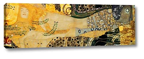 (Water Serpents I by Gustav Klimt - 5