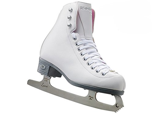 Riedell Pearl Junior Girls Figure Skates with Eclipse Luna