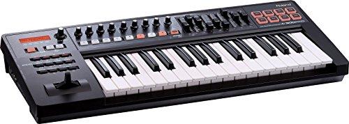 Roland A-300PRO-R 32-key MIDI Keyboard Controller, Black